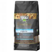 grau - Trockenfutter - Excellence Puppy mit Geflügel