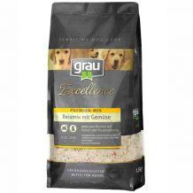 grau - Ergänzungsfutter - Premium-Mix Reismix mit Gemüse
