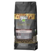 grau - Trockenfutter - Excellence Adult sensibel mit Hirsch (glutenfrei)
