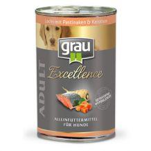 grau - Nassfutter - Lachs und Kartoffel 400g