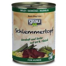 grau - Nassfutter - Wild Gemüse Nudeln 400g