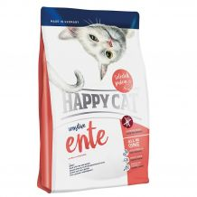 Happy Cat - Trockenfutter - Sensitive Ente (getreidefrei)