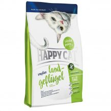 Happy Cat - Trockenfutter - Sensitive Land-Geflügel