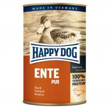 Happy Dog - Nassfutter - Single Protein Ente Pur 6 x 400g (getreidefrei)