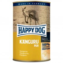 Happy Dog - Nassfutter - Single Protein Känguru Pur 400g