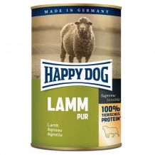 Happy Dog - Nassfutter - Single Protein Lamm Pur 6 x 400g (getreidefrei)
