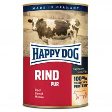 Happy Dog - Nassfutter - Single Protein Rind Pur 6 x 400g (getreidefrei)