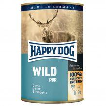 Happy Dog - Nassfutter - Single Protein Wild Pur 6 x 400g (getreidefrei)
