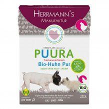 Herrmann's - Trockenfutter - Puura Trockenfleisch Bio-Huhn Pur 500g
