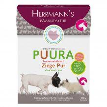 Herrmann's - Trockenfutter - Puura Trockenfleisch Ziege Pur 500g