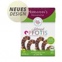 Herrmanns - Kausnack - Pfotis Bio-Hühnerhälse 200g