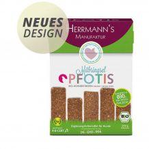 Herrmann's - Kausnack - Pfotis Bio-Hühnerstreifen 250g
