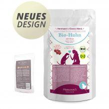 Herrmann's - Nassfutter - Bio-Huhn mit Bio-Hirse 130g