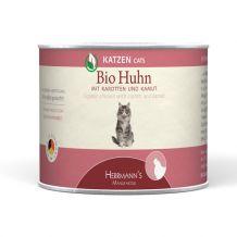 Herrmanns - Nassfutter - Selection Bio-Huhn mit Karotte und Kamut 6 x 200g