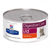 Hill's - Nassfutter - Prescription Diet Feline i/d Feingehackt mit Huhn 156g