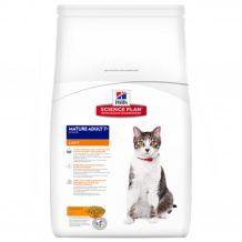 Hill's - Trockenfutter - Science Plan Feline Mature Adult 7+ Light Huhn