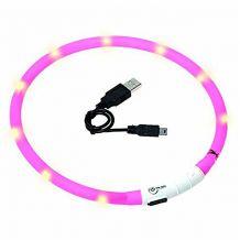 Karlie - Hundezubehör - Leuchthalsband Visio Light Pink