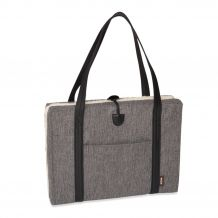 Kona Cave - Hundebett - Travel Mat Herringbone Grey