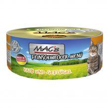 Mac's - Nassfutter - Feinschmecker Kalb und Geflügel