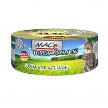 Mac's - Nassfutter - Feinschmecker Lamm, Geflügel und Ei