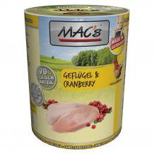 MAC's - Nassfutter - Geflügel & Cranberry 400g