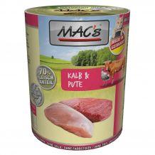 MAC's - Nassfutter - Kalb & Pute 400g