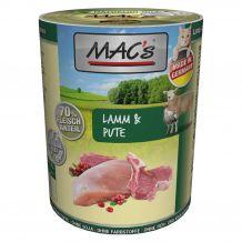 MAC's - Nassfutter - Lamm & Pute 400g