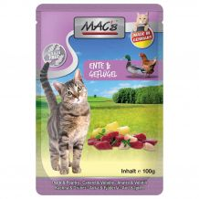 MAC's - Nassfutter - Pouch Pack Ente & Geflügel