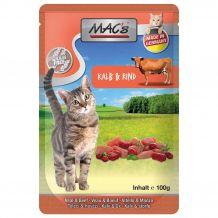 MAC's - Nassfutter - Pouch Pack Kalb & Rind