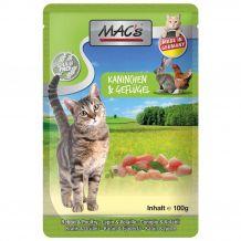 MAC's - Nassfutter - Pouch Pack Kaninchen & Geflügel