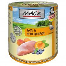 MAC's - Nassfutter - Pute & Heidelbeere 400g
