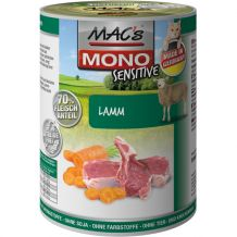 MAC's - Nassfutter - Mono Sensitive Lamm & Karotte 400g