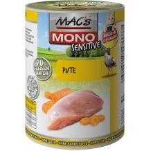 MAC's - Nassfutter - Mono Sensitive Pute & Karotte 400g