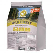 Natural - Trockenfutter - Wild Turkey mit Truthahn 15kg (getreidefrei)