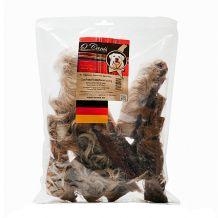 O'Canis - Kausnack - Premium Rinderkopfhaut mit Fell