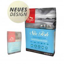 Orijen - Trockenfutter - Six Fish (getreidefrei)