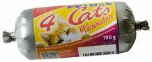 Petman - Frischfleisch - 4Cats Kaninchen Frostfutter