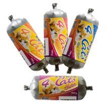 Petman - Frischfleisch - 4Cats Frostfutter 4 Sorten-Mix Paket