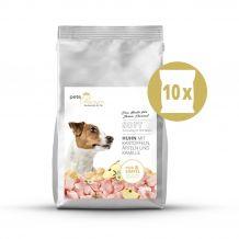 pets Premium - Trockenfutter - Soft Huhn mit Kartoffeln, Äpfeln und Kamille 10 x 1,5kg