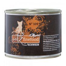 Catz finefood - Nassfutter - Purrrr No.109 Schwein 200g
