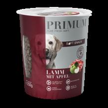 Primum - Hundesnack - Soft Snack Lamm mit Apfel 4 x 200g (getreidefrei)