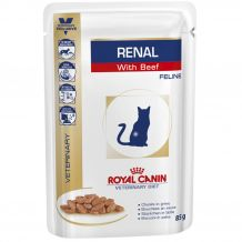 Royal Canin - Nassfutter - Veterinary Diet Renal Beef Sortenrein Feline