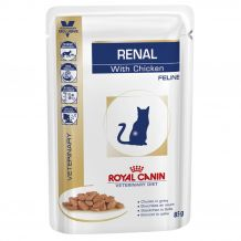 Royal Canin - Nassfutter - Veterinary Diet Renal Chicken Sortenrein Feline