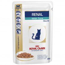 Royal Canin - Nassfutter - Veterinary Diet Renal Tuna Sortenrein Feline