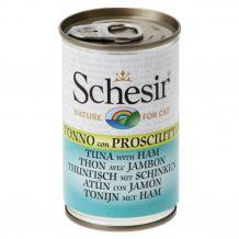 Schesir - Nassfutter - Brühe Thunfisch mit Schinken