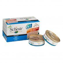 Schesir - Nassfutter - Jelly Multipack Thunfisch