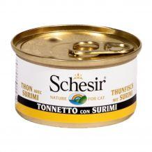Schesir - Nassfutter - Jelly Thunfisch mit Surimi