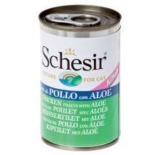 Schesir - Nassfutter - Kitten Jelly Hühnerfilet mit Aloe