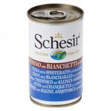 Schesir - Nassfutter - Natural Thunfisch mit kleinen Sardellen