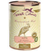 Terra Canis - Nassfutter - Pute mit Brokkoli, Birne und Kartoffel (glutenfrei) 400g